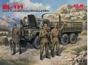 ICM Camion Militare ZiL-131 Modellino in kit di Montaggio