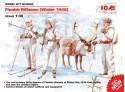 ICM Tiratori Finlandesi Figure in kit di Montaggio