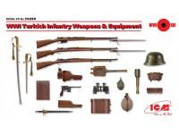 ICM Armi ed Equipaggiamento Fanteria Turca WWI kit di Montaggio