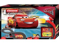 Carrera 1.First Pista Elettrica Analogica Disney cars 3
