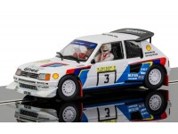 Scalextric Peugeot 205 T16 Rally mille laghi 85 Modellino Slot Car