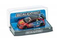 Scalextric Autograph Series BTCC Honda Civic Type R Jeff Smith Modellino Slot Car