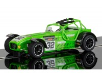 Scalextric Caterham Superlight Lee Wiggins Modellino Slot Car