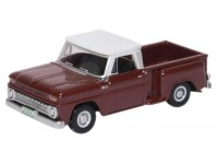 BUSCH CHEVROLET STEPSIDE PICK-UP 1965 MARRONE METALLIZZATO MODELLINO