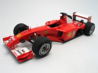 Mattel Modellino Ferrari F2001 Michael Schumacher GP Ungheria