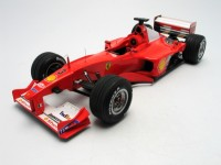 Mattel Modellino Ferrari F2000 Michael Schumacher GP Giappone