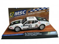 Slot Car De tomaso pantera n.83 tour de france automobile 1973 MSC Competition