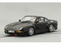 Slot Car Porsche 959 Nera Montecarlo Chassis MSC Competition