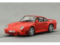 Slot Car Porsche 959 Rossa Montecarlo Chassis MSC Competition