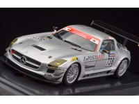 Slot Car Mercedes SLS GT3 24h Nurburgring 2010 Scaleauto