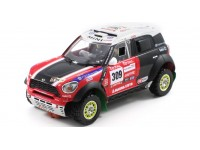 Slot Car Mini All 4 Racing N.309 Dakar 2012 Scaleauto