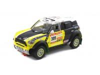 Slot Car Mini All 4 Racing N.305 Rally Dakar 2012 Scaleauto