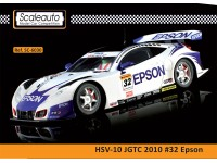 Slot Car HSV-010 Epson n.32 Campionato super GT 2010 Scaleauto