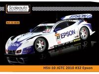 Slot Car HSV-010 Epson n.32 Campionato super GT 2010 Scaleauto