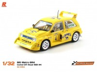 Slot Car Mg metro 6R4 n.4 Camel off-road 1991 Scaleauto