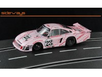"Porsche 935/78 n.23 Moby Dick ""pink pig"" Sideways Slot Cars"