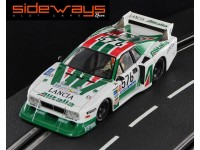 Lancia Beta Montecarlo Turbo N.576 Giro Italia 1979 Sideways Slot Cars