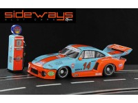 Porsche 935/77A Gulf Historical Color Sideways Slot Cars