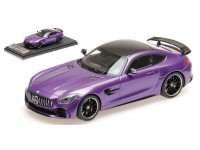 ALMOST REAL MERCEDES AMG GT R 2017 SKY PURPLE MODELLINO