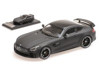 ALMOST REAL MERCEDES AMG GT R 2017 NERO OPACO MODELLINO