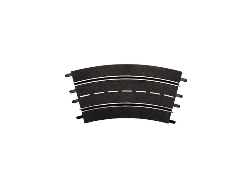 Carrera 6 Pezzi Curva 3/30° Estensioni per Piste Elettriche