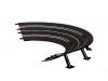 Carrera 6 Curve paraboliche 1/30° Estensioni per autopiste