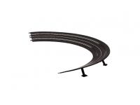 Carrera Curve paraboliche 3/30° Ricambi piste elettriche