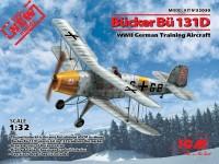 ICM Bucker Bu 131D Modellino in kit di Montaggio