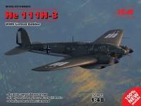 ICM Bombardiere He 111H-3 Modellino in kit di Montaggio