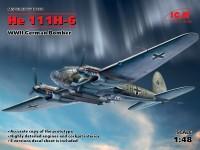 ICM Bombardiere He 111H-6 Modellino in kit di Montaggio