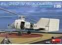 Miniart Fl 282 V-6 KOLIBRI Elicottero in kit di Montaggio