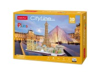 CUBICFUN PARIGI SKYLINE IN PUZZLE 3D