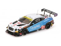 ALMOST REAL BENTLEY GT3 N.31 BRITISH GT CHAMPIONSHIP 2016 MODELLINO