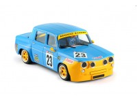 BRM Renault R8 gordini Yellow/blue Renault n.23 edition
