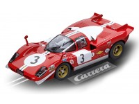 Carrera Digital 124 Ferrari 512S Berlinetta Scuderia Filipinetti 1970 Modellino Slot
