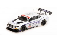 ALMOST REAL BENTLEY CONTINENTAL GT3 JORDAN WITT RACING 2016 GT CUP SERIES CHAMPIONS MODELLINO