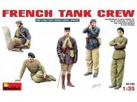 Miniart Carristi Francesi Figure in kit di Montaggio