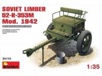 Miniart Soviet Limber 52-R-353M Mod. 1942 Modello in kit di Montaggio