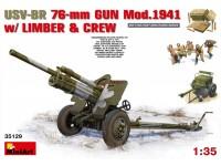 Miniart USV-BR 76-mm Modello in kit di Montaggio