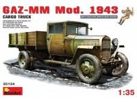 Miniart GAZ-MM Mod.1943 Modello in kit di Montaggio