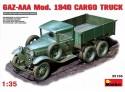 Miniart GAZ-AAA Mod. 1940 Modello in kit di Montaggio