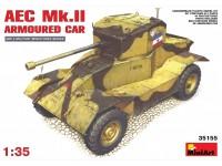 Miniart AEC Mk.II Armoured Car Modello in kit di Montaggio