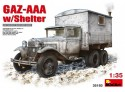 Miniart GAZ-AAA with Shelter Modello in kit di Montaggio
