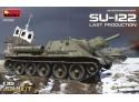 Miniart Semovente D'artiglieria SU-122 Last Production Modello in kit di Montaggio