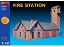 Miniart Caserma dei Pompieri Modello in kit di Montaggio