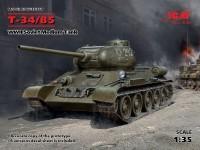 ICM Carro Medio Sovietico Т-34-85 Modellino in kit