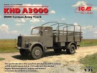 ICM Veicolo Militare KHD A3000 Modellino in kit