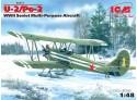 ICM Polikarpov U-2/Po-2 Modellino in kit