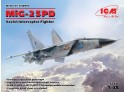 ICM Mikoyan-Gurevich MiG-25 PD Modellino in kit
