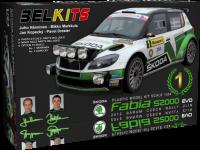 Belkits Skoda Fabia S2000 Rally Barum Zlin 2012 Kit di Montaggio